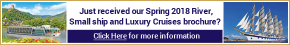 Spring 2018 Brochure Cruises