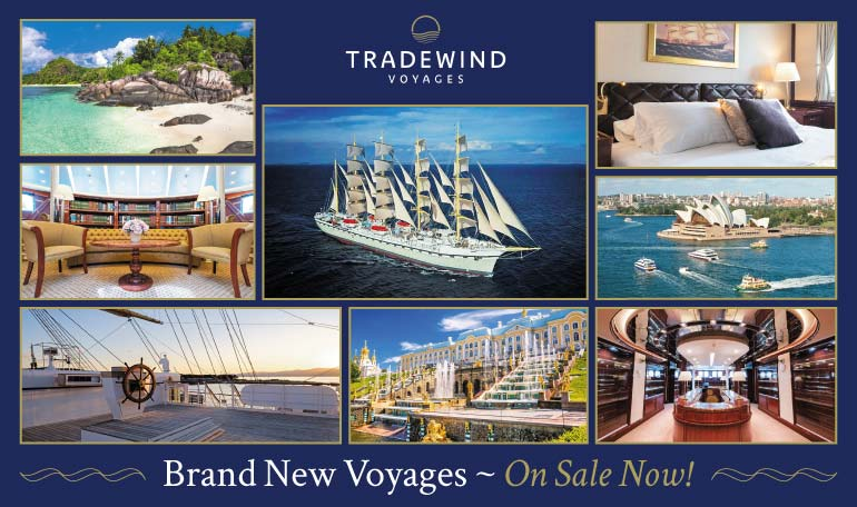 Tradewind Voyages On Sale Now!