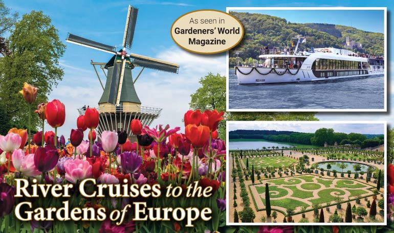 River Cruises to Gardens