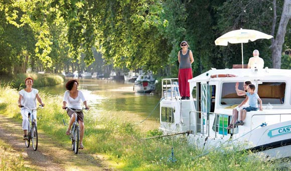 Enjoy a boating holiday across Europe including France, UK, Ireland and Holland