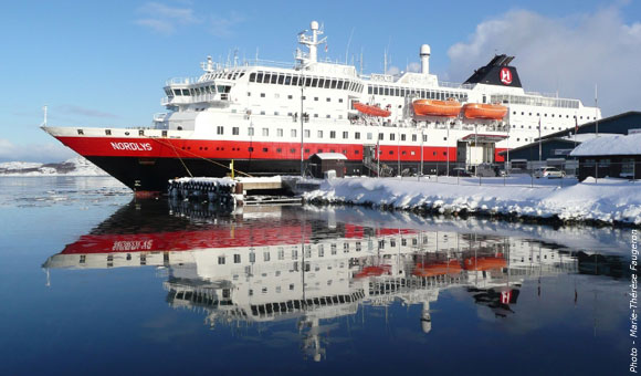 MS Nordlys at Kirkenes