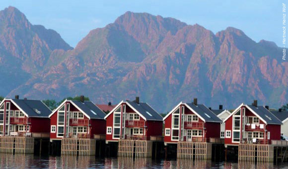 Fishermens huts at Svolvaer