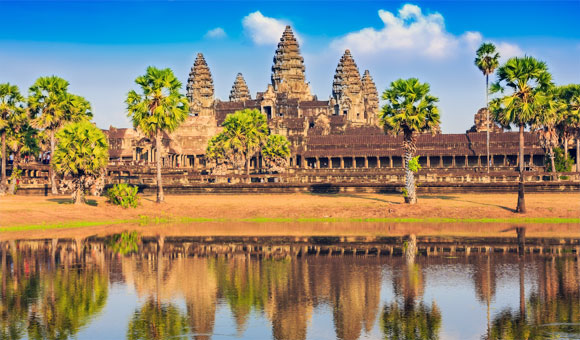 See Angkor Wat in Cambodia on a Mekong river cruise